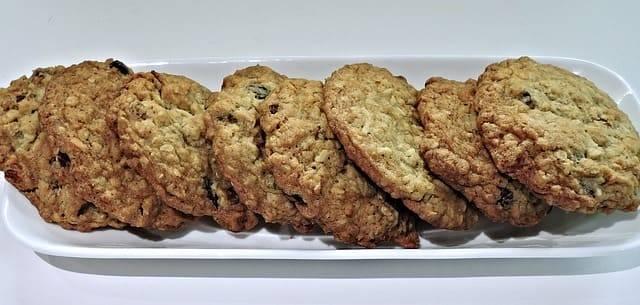 galletas de avena veganas