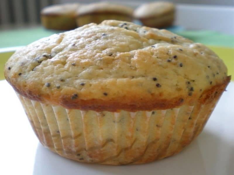 muffins de banana y coco