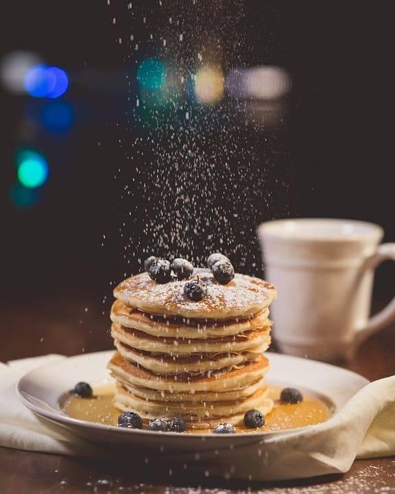 pancake vegano